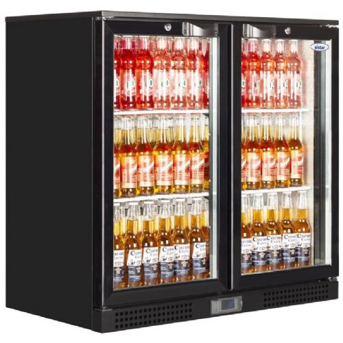 Elstar EM231H Low Height Double Hinged Door Bottle Chiller